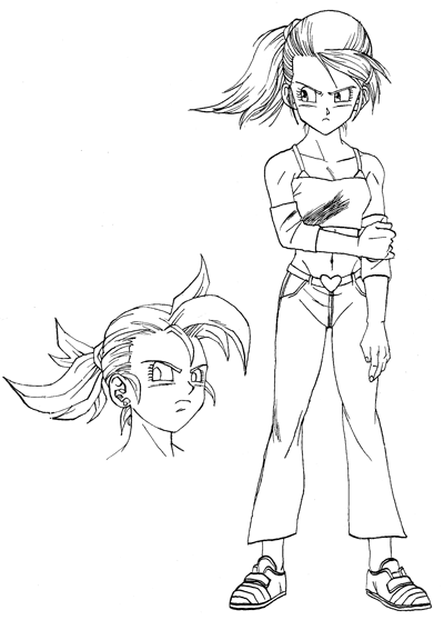 Bonus Dbz Characters With Designs Neither Dbz Nor Dbgt Dragon