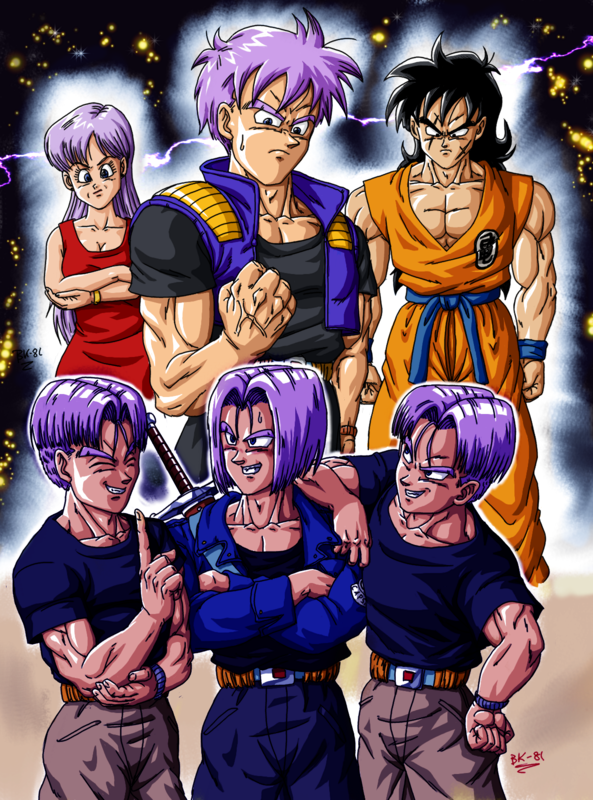 Bk 81 53 Fanarts Dragon Ball Multiverse