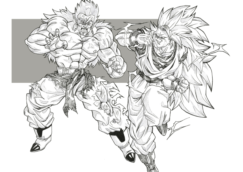 Bloodsplach 18 fanarts dragon ball multiverse - Comment dessiner trunks ...