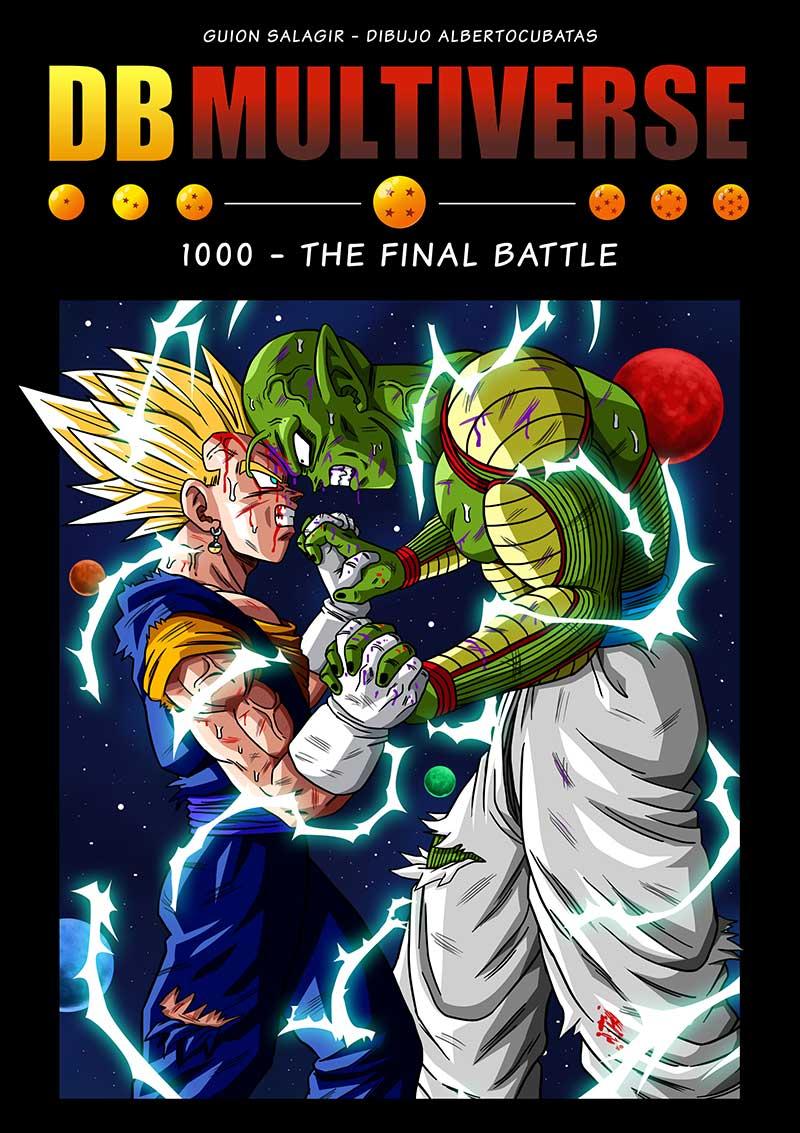 Special page 1000  Dragon Ball Multiverse