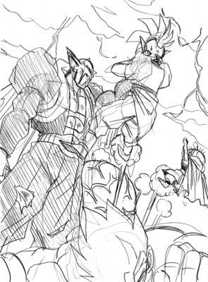Bonus : Drawing steps page 120 - Dragon Ball Multiverse Dragon Ball Z Characters Goku Drawing